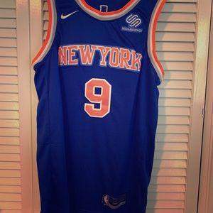 RJ Barrett Blue New York Knicks jersey